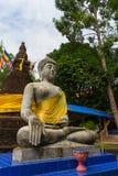 Talla de piedra para la estatua de Buda Imagen de archivo libre de regalías