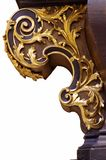 Talla del Barroco del ornamento Imágenes de archivo libres de regalías