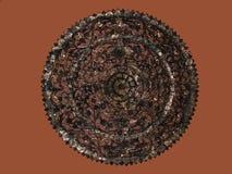Talla del círculo del Javanese Imagen de archivo