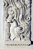 Talla india del pato del yeso Foto de archivo