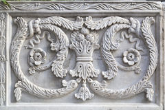 Talla islámica del mármol Imagen de archivo libre de regalías
