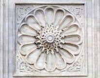 Talla islámica del mármol Imagenes de archivo