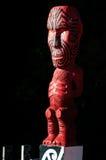 Talla maorí Foto de archivo libre de regalías