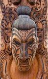 Talla maorí Fotos de archivo