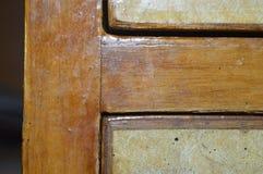 Talla natural de madera del diseño… de la madera Fotografía de archivo