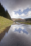 Talla reservoir Stock Images