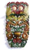 Talla tradicional colorida Imagen de archivo libre de regalías