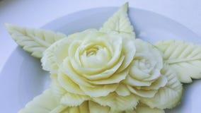 Talla verde de los mangos Imagen de archivo