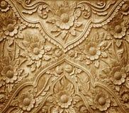 tallado en el fondo de madera Imagen de archivo