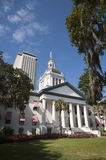 Tallahassee Florida State Capitol buildings Florida US. A Modern offices are at the rear Royalty Free Stock Photos