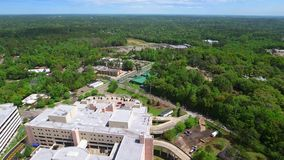 Tallahassee medical center 4k aerial video stock video
