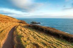 Talland Bay in Cornwall Stock Photos