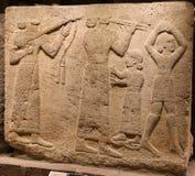 Tallando en el museo de civilizaciones de Anatolia, Ankara Imagenes de archivo
