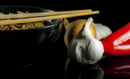 Tallarines chinos Fotografía de archivo libre de regalías