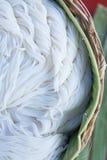 Tallarines de arroz tailandeses Imagen de archivo libre de regalías
