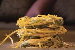 Tallarines de las pastas Imagen de archivo libre de regalías