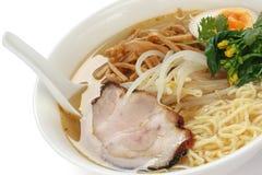 Tallarines de Ramen del Miso, alimento japonés imagen de archivo libre de regalías