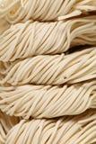 Tallarines del blanco chino Imagenes de archivo