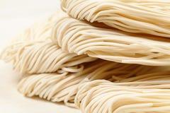 Tallarines del blanco chino Fotografía de archivo