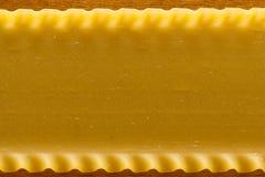 Tallarines del Lasagna Fotografía de archivo libre de regalías