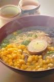 Tallarines del maíz Foto de archivo libre de regalías