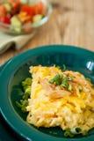 Tallarines del queso de los macarrones o de huevo del spatzle Foto de archivo libre de regalías