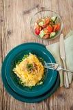 Tallarines del queso de los macarrones o de huevo del spatzle Imagenes de archivo