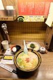Tallarines en Tokio Japón Fotos de archivo libres de regalías