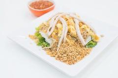 Tallarines fermentados de la harina de arroz Foto de archivo