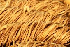 Tallarines fritos Foto de archivo