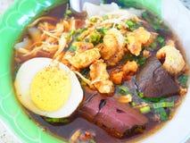 Tallarines tailandeses Foto de archivo