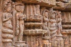 Tallas antiguas de la piedra arenisca Foto de archivo libre de regalías