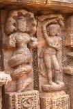 Tallas antiguas de la piedra arenisca Imágenes de archivo libres de regalías