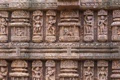 Tallas antiguas de la piedra arenisca Fotografía de archivo