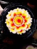 Tallas de la flor del jabón Fotografía de archivo libre de regalías
