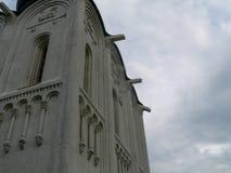 Tallas de la pared de la iglesia fotografía de archivo libre de regalías
