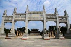 Tallas de la roca de Dazu, Chongqing, China foto de archivo libre de regalías