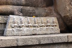 Tallas de Lepakshi imagen de archivo