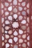 Tallas de piedra en la pared en Fatehpur Sikri Fotografía de archivo libre de regalías