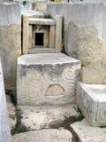 Tallas decorativas megalíticas Fotos de archivo libres de regalías