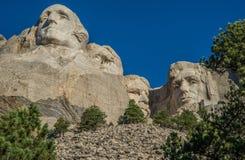 Tallas en el monte Rushmore fotografía de archivo libre de regalías