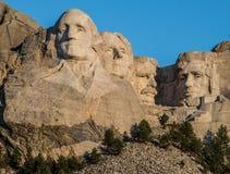 Tallas en el monte Rushmore imagen de archivo libre de regalías