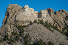 Tallas en el monte Rushmore en Dakota del Sur fotografía de archivo