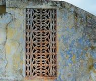 Tallas hermosas de la piedra arenisca en la pared Fotografía de archivo