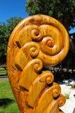 Tallas maoríes en Russel céntrico imagen de archivo libre de regalías
