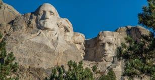 Tallas presidenciales en el monte Rushmore foto de archivo