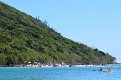 Tallebudgera liten vik Gold Coast Queensland Australien Royaltyfria Bilder