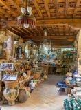Taller de cerámica foto de archivo libre de regalías