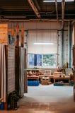 Taller de cerámica del arte de la cerámica de la arcilla, cerámica de cerámica que hace el estudio Imágenes de archivo libres de regalías