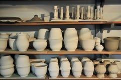 Taller de la cerámica Fotos de archivo